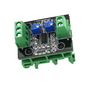 Current To Voltage Module 4-20mA To 0-15V Isolation Signal Converter With Green Base