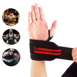 AOLIKES 1 PCS Levantamento de peso Esportes de esportes Ginásio Gym Support Straps Wraps Bandage1