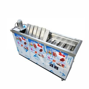 350KG Big capacity Ice lolly making machine 4200W popsicle sticks maker 10 12 molds