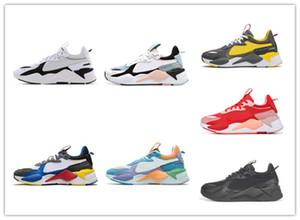 En Kaliteli Koşu Ayakkabıları RS-X Koşu Sistemi Oyuncaklar Rejimasyon Transformers Siyah Altın Kadın Chaussures Erkek Eğitmenler Spor Sneakers 36-45