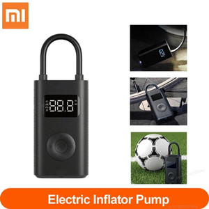 [To US] Xiaomi Electric Inflator Pump Portable Smart Digital Tire Pressure Detection For Scooter Bike Motorcycle Scooter Car Football