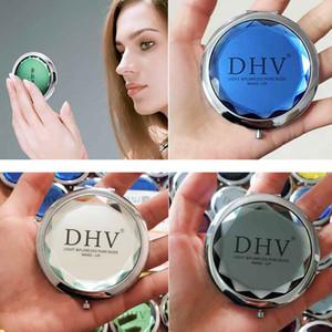Продвижение пользовательских хрустальных зеркал поверхности портативный карманный мини косметические зеркала женщины косметические милые круглые макияжные раскладки зеркал EWD2676