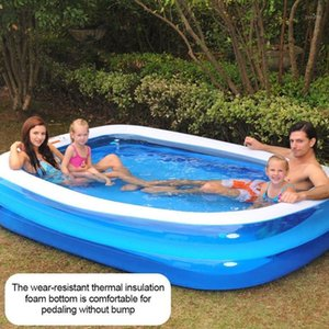Inflatable Swimming Pool Adults Kids Pool Bathing Tub Outdoor Indoor Swimming Home Household Baby Wear-resistant Thick1