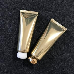 80ml Altın Alüminyum Plastik Kozmetik Bottle 80g Yüz Temizleyici Krem sıkın Tüp Şampuan Losyon Şişeler Ücretsiz Kargo