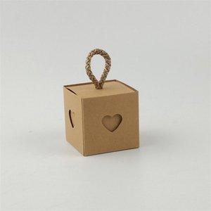 Scatola da zucchero Cuore e Anima Capo Ministri Guarnizione Restaurazione dei modi antichi Candy Case Kraft Paper Packing Contenitore Vendita calda 0 45JM P1