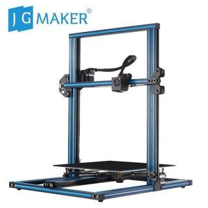 Принтеры Jgaurora Jgmaker A5X 3D принтер 2.8 '' HD сенсорный экран DIY комплект BDG с подогревом кровать двойной Z оси винтовой стержень печатает