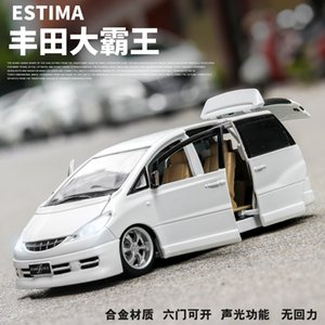 New 132 TOYOTA ESTIMA Alloy Car Model Diecasts & Toy Vehicles Toy Cars Educational Toys For Children Gifts Boy Toy