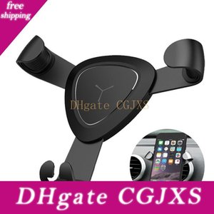 Gravity Metal Air Vent Mount Car Phone Holder Gps Stand For Iphone 7 6s Plus Samsung Smart Mobile Cell Phone Stander
