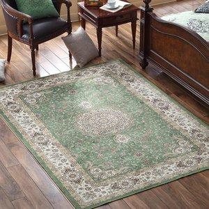 Romantic style cotton blending durable wedding carpet,gorgeous Persian living room rug,big size coffee table floor mat1