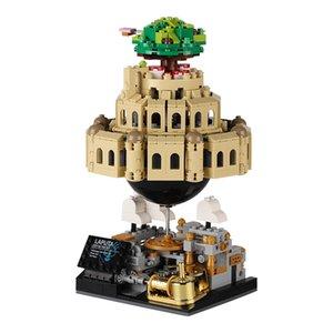 XingBao 05001 Ideas Moive Series City Castle in The Sky Model Kit Building Blocks Bricks KIDS TOYS Music Box Christmas DIY Gifts X0102