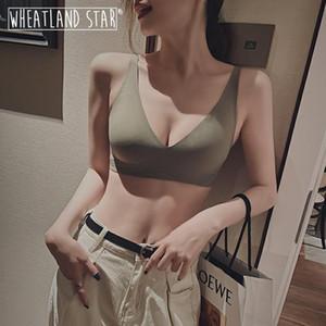 Seamless Bra Wire Free Brassieres Natural Rubber Summer Sexy Intimates Lingerie Femme Woman Lingerie 2020 Underwear & Sleepwears