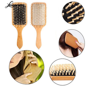 Airbag Comb Scalp Massage Hair Brush Wooden Spa Air Cushion Anti-static Hairdressing Slab Comb Head Promote Blood Circulation