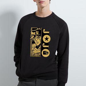 HARAJUKU Mode Jojo's Bizarre Adventure Sweatshirts Sweatshirts Homme À Headie Mode Hot Fashion Convient enfants Jojo Garçons Girls Pullover Top x1022