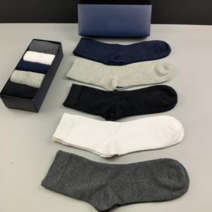 Ralph Lauren sock Мужские носки Средних чулки классических мужских носков джентльмена формального носить случайных носки способ сжатия теплой зима носок оптового размера: 40-45