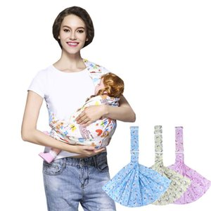 3 In 1 baby Carrier Cotton Cross-over Infant Wrap Breathable Soft Horizontal Carry Baby Sling For Outdoor Travel 15kg 0-36M