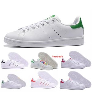Top quality women men new stan shoes fashion smith sneakers casual leather shoes classic flats