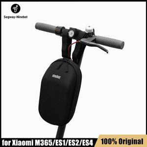 Ninebot 미니 샤오 미 Mijia M365 전기 킥 스쿠터 ES1 ES2 ES4 Qicycle 충전기 배터리 병 캐리 가방 휴대용 핸들 가방