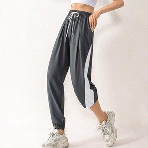 Trainning Exercício Pants outono Quick Dry Sportswear Calças Loose Women flexível Pant Lazer Fitness esgotando Yoga