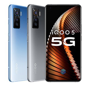 "Оригинальный Vivo iQOO 5 5G мобильного телефона 8GB RAM 128GB ROM Snapdragon 865 окта Ядро Android 6,56"" 50MP NFC Fingerprint ID Face Wake сотовый телефон"