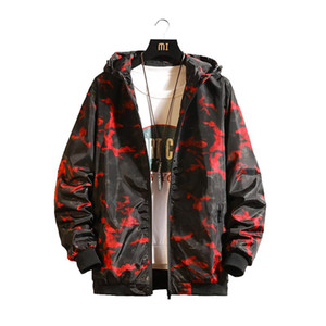 Mens Spring Autumn New Fashion Slim Fit Young Men Hooded Jacket Casual Fashion Windbreaker Top Quality Jackets