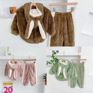 SYY9 Winter Kleinkind Outfits China Käppchen Kind für Baby Weste Hosen Plaid KidsSet Mit Kapuze Mantel Plaid Warme Jungen Kinder Kinder -
