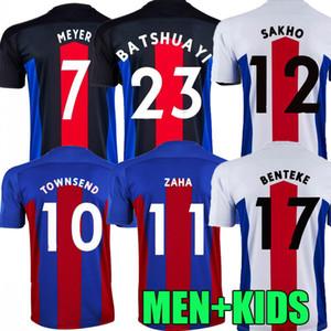 Uomini + bambini 20 21 Maglie da calcio 2020 2021 Zaha Milivojevic Townsend Sakho Benteke Batshuayi Camicie da calcio Uniforme Tailandia