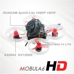 Happymodel Mobula6 HD Mobula 6 1S 65mm Crazybee F4 Lite Cinewhoop Tiny Whoop FPV Mini Drone Kit BNF w  Runcam Split 3 Camera 210202