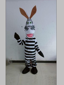 2019 Factory direct sale POLE STAR MASCOT COSTUMES white and black horse mascot costumes zebra disguise