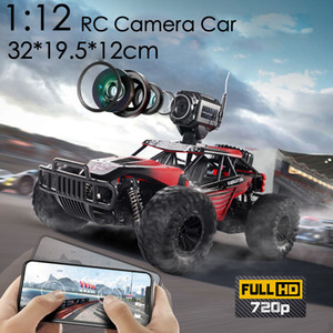 2020 NEW 1:12 RC Car 2. With HD Camera Cars Off Road Buggy Toy High Speed Climbing RC Car Real-time transmission Toys LJ200919