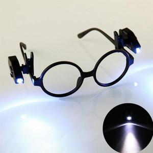 Mini Adjustable Led Eyeglass Clip Universal Portable Lamp Glasses Book Reading Light