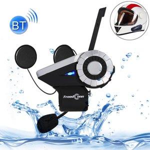 T-REX Único Bluetooth Interphone Headsets para Motorcycle Helmet Intercom Distância até 1500m