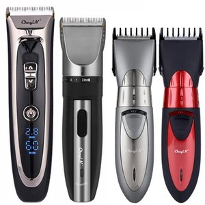 Professional Length Adjustable Electric Hair Clipper Cordless Hair Trimmer Low Noise Barber Home Cutting Machine Haircut 31