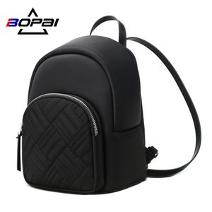 Bopai Backpack Women 2020 New Korean Mini Backpack Simple Wild Trend Student Bag Bopai Backpack bbyoGb yh_pack