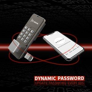 Smart Safes Lock Dynamic Password Smart Box Block Zinc Aleación Safe Tongue Digital Gabinete Archivo Safe Door Puerta Cerradura Contraseña por aplicación