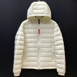 Nueva chaqueta de invierno coats con cremallera Slim Fit Hip Hop Hop Casual Motocicleta Coats Imprimir letras Fitness Ropa de lujo Goose Canadá Jacket Hombres