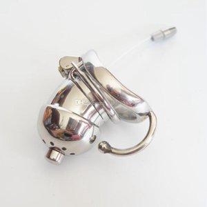 Нержавеющая Мужской Spike Пол стальное кольцо для взрослых Клетка Целомудрие Целомудрие Клетка с Device Cock Катетер Бандаж для мужчин игрушки Bet Wsmom