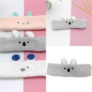 Tessuto di lana di Nja Headband per Plaid Spugna Hairband Headband Donne soffici