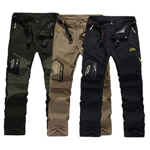 2020 Hiking Pants Outdoor Quick Dry Pants Men Summer Breathable Camping Trousers Removable Shorts Hunting Fishing