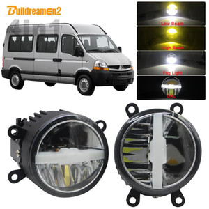 30W Car LED Bulb Headlight High Beam Low Beam Fog Light DRL + Harness Wire 5000LM 12V Styling For Master II 1998-2010