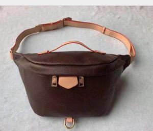 Atacado Nova Moda PU Couro Brown Flor Handbags Mulheres Sacos Fanny Packs Cintura Sacos Bolsa Senhora Barrigueiro Bolsa De Peito