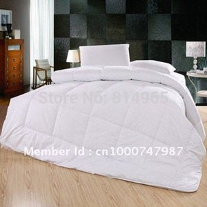 Luxurious White--Free Shipping--300 GSM Top Grade Australian Wool Duvet Quilt Comforter Doona Queen Or Make Any Size dQ8a#