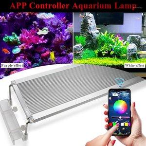 80CM RGB Leds Aquarium Led Lighting Lamp For Light Marine Fish Tank Leds1 Aquariums