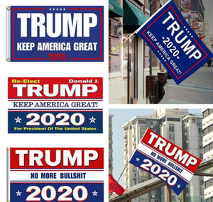Decor Banner Trump Flag Hanging 90*150cm Trump Keep America Great Banners 3x5ft Digital Print Donald Trump 2020 Flag