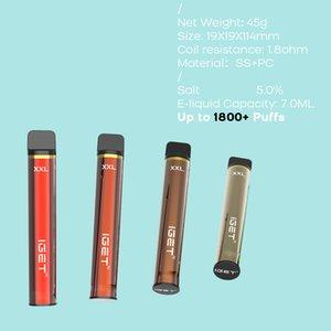 نفث 1800 vape المتاح الإلكترونية iget e السجائر shion xxl بالجملة bndru