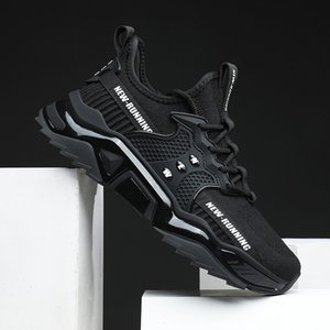 2021 Comforable Lightweight Running Shoes For Women Men Tripe Black White Green Three Color Mens Trainers scarpe Zapatos Chaussures 40-45