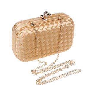 Handbag Detachable Purse Evening 2021 Shoulder Party Bag Paillette Luxurys Dhsnu Designer Chain Wedding Woven For Cocktail Clutch Gtmhc