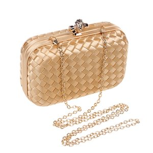 Woven Bag Handbag 2020 Vkcci For Luxurys Party Evening Paillette Wedding Shoulder Chain Designer Detachable Party Purse Cocktail Clutch Beqs