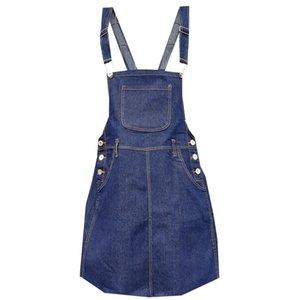 Girl Clothes Summer Sundress Toddler Suspender Denim Straps Overalls Clothing Kids Dresses Girls Vestido menina Denim trabajo