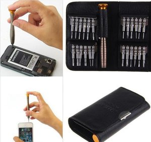 Fashion Hot 25 In 1 Cell Phones Screen Opening Pry Repair Screwdrivers Tool Set Kit Metal Sp wmtIPW bdesybag