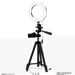 Tripods Selfie Stick with Ring Fill Light Dimmable Ring Led Lamp Studio Camera Light Photo Phone Video Lamp1